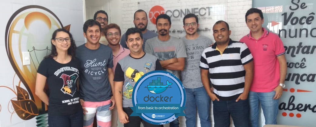 Segunda turma do curso Docker