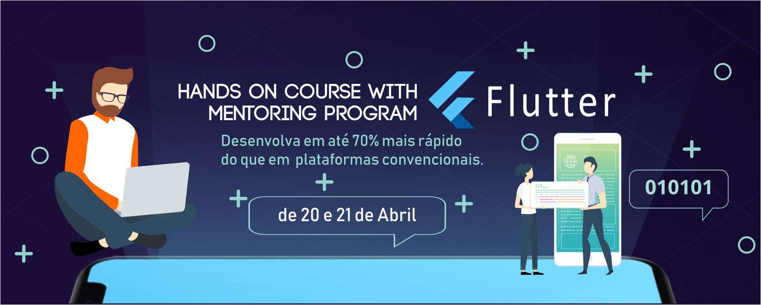 Flutter: hands on course with mentoring program