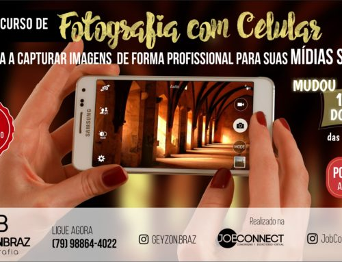 Curso de Fotografia com Celular por Geyzon Braz