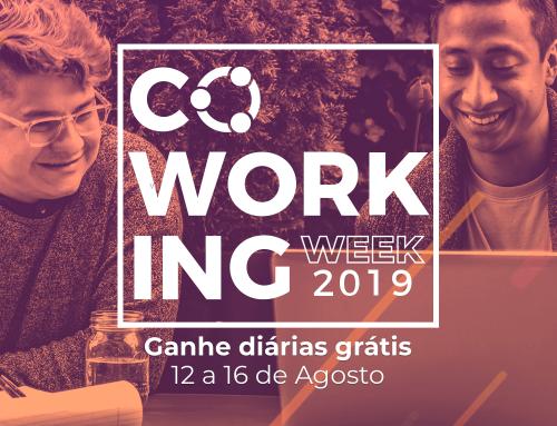 Coworking Week 2019 chegou!