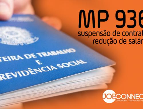 MP 936: Redução de Salário e Suspensão de Contrato de Trabalho