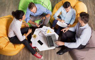Trabalhar em um coworking aumenta a produtividade